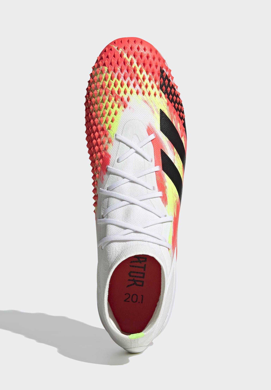 Adidas Performance Predator Mutator 20.1 Artificial Grass Boots - Fodboldstøvler M/ Faste Knobber White