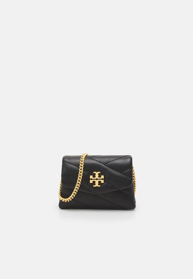 Tory Burch - KIRA CHEVRON NANO BAG - Across body bag - black
