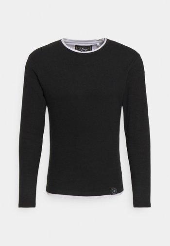 SARASOTA ROUND - Stickad tröja - black