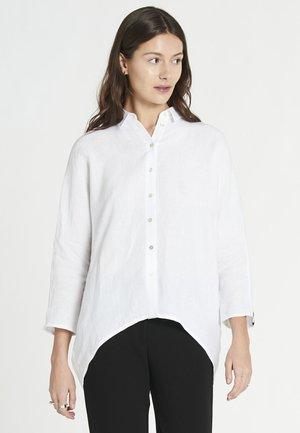 Button-down blouse - optic white