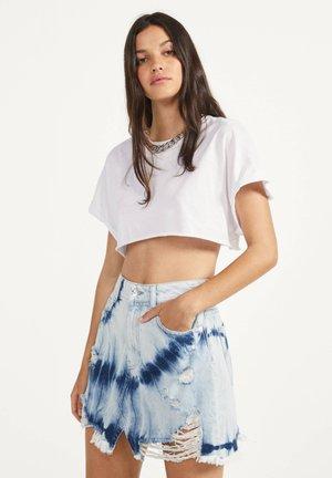 Denimová sukně - light blue
