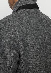 TOM TAILOR DENIM - COAT - Klassinen takki - grey melange - 4