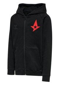 Hummel - ASTRALIS  - Zip-up sweatshirt - black - 2