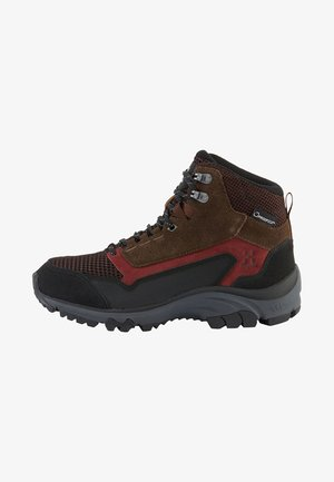 SKUTA MID PROOF ECO - Hiking shoes - red