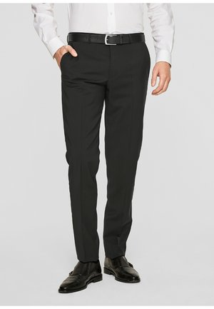 CESANO - Suit trousers - black