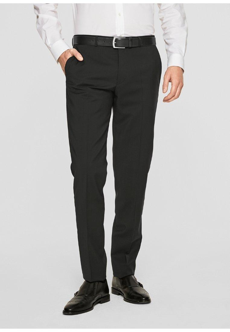 s.Oliver BLACK LABEL - CESANO - Suit trousers - black