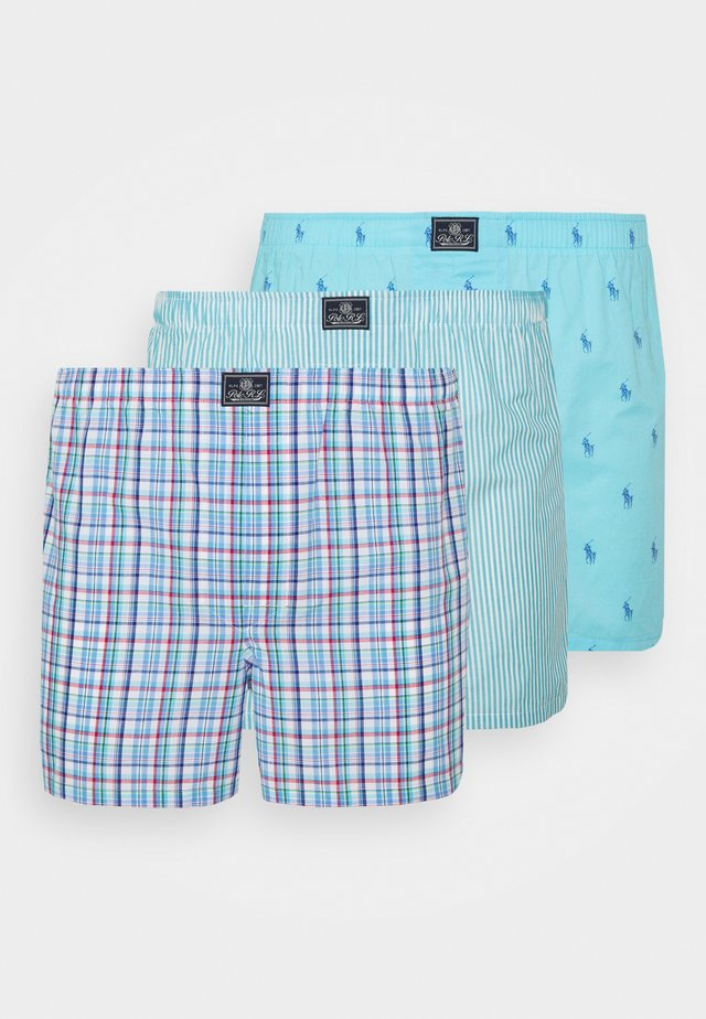3 PACK  - Boxer - turquoise