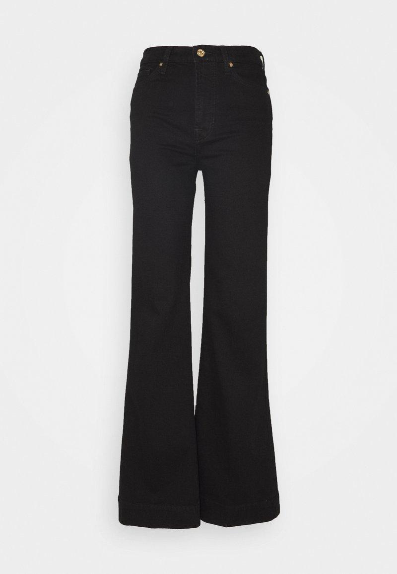 7 for all mankind - MODERN DOJO - Flared Jeans - black