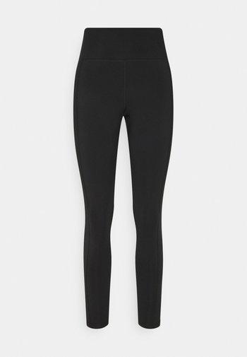 CURVY EVERYTHING  - Leggings - Trousers - true black