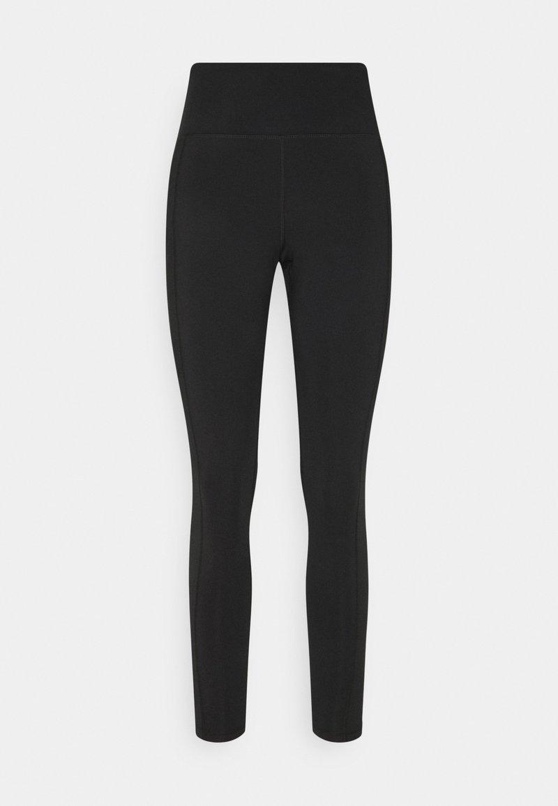 American Eagle - CURVY EVERYTHING  - Leggings - Trousers - true black