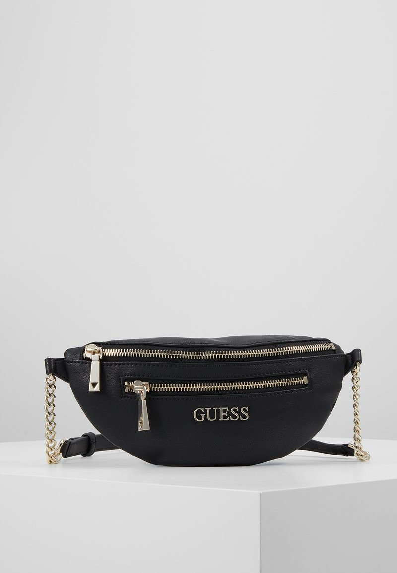 Guess - CALEY BELT BAG - Ledvinka - black