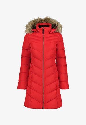 Winter coat - klassisch rot