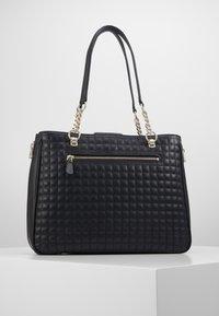 Guess - MATRIX ELITE CARRYALL - Handbag - black - 1