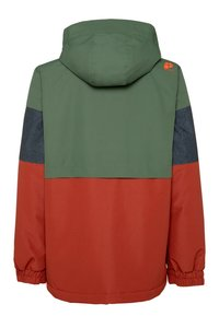 Protest - SNOWJACKET - Snowboard jacket - mottled dark green/brown/orange - 1