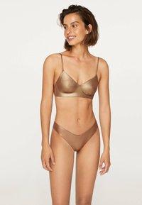 OYSHO - Bikini bottoms - gold - 0