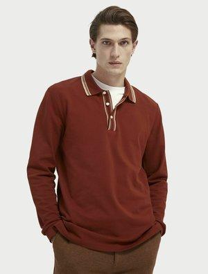 Polo shirt - tobacco