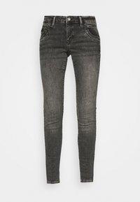 LINDY - Slim fit jeans - smoke random