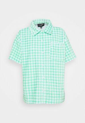 GINGHAM TOWELLING - Skjorte - green