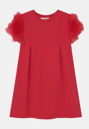 Jersey dress - poppy