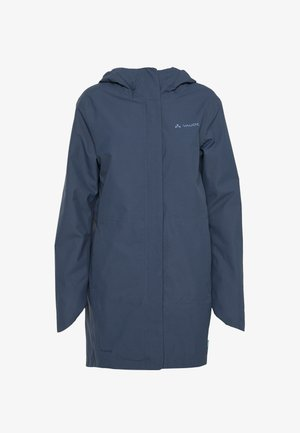 WOMENS CYCLIST PADDED PARKA II - Winter coat - steelblue