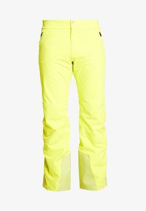 MEN FORMULA PANTS - Snow pants - citric yellow