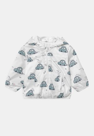 NEWBORN RAIN JACKET  - Regnjacka - snow white