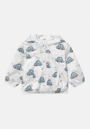 NEWBORN RAIN JACKET  - Waterproof jacket - snow white