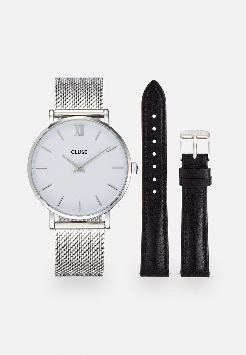 Cluse - MINUIT GIFT BOX SET - Watch - white/black