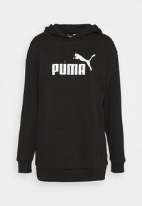 Puma - ELONGATED LOGO HOODIE - Sweatshirt - black - 5