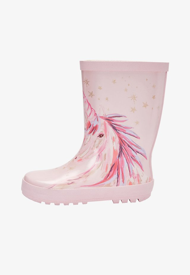 Gummistövlar - pink