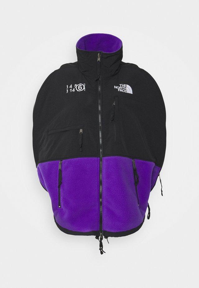 MM6 X THE NORTH FACE COAT - Fleecejacke - purple