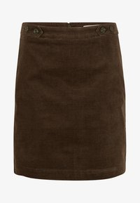 comma casual identity - Mini skirt - dark khaki - 4
