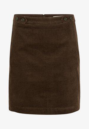Mini skirt - dark khaki