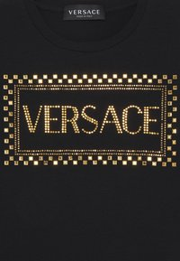 Versace - MAGLIETTA MANICA LUNGA - T-shirt à manches longues - black - 2
