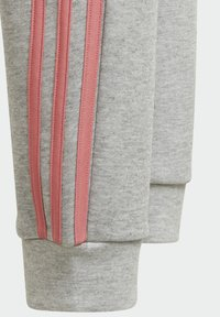 adidas Performance - STRIPES TAPERED LEG TRACKSUIT BOTTOMS UNISEX - Træningsbukser - grey - 4