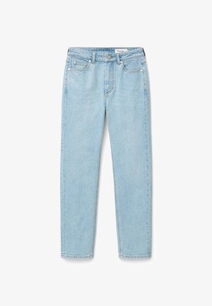 Straight leg jeans - multi/bleached blue