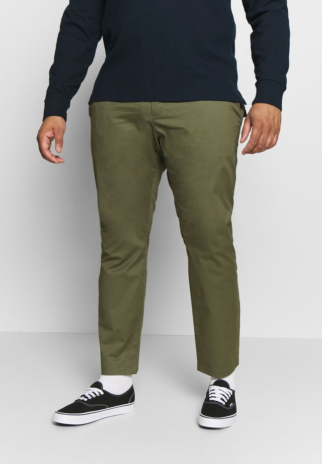 Chinos - olive night green