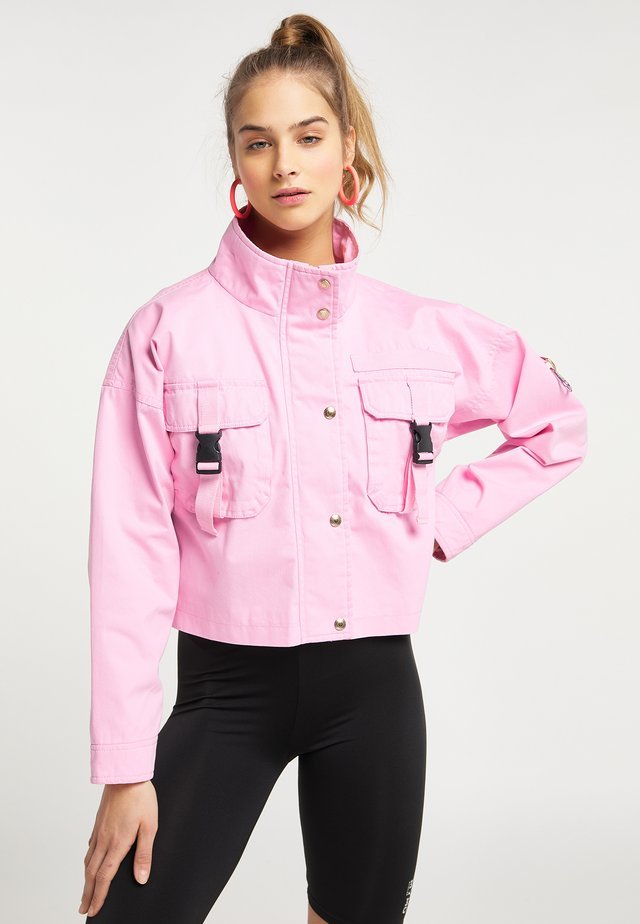 Chaqueta fina - pink