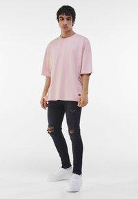 Bershka - Jeans Skinny Fit - black - 4