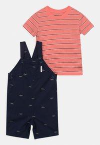 Carter's - SET - Print T-shirt - dark blue - 0