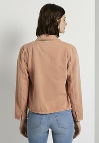 TOM TAILOR DENIM - Giacca di jeans - washed coral - 2