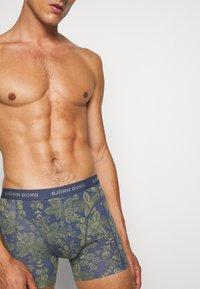 Björn Borg - SAMMY FIJI FLOWER 3 PACK - Underkläder - crown blue - 5
