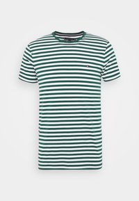 SLIM FIT TEE - Print T-shirt - green