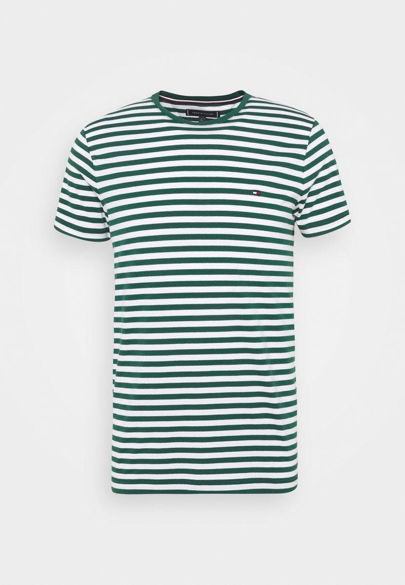 Tommy Hilfiger - STRETCH SLIM FIT TEE - T-shirt - bas - green