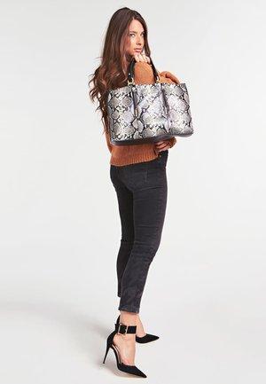 LAPIS  - Handbag - mehrfarbig schwarz