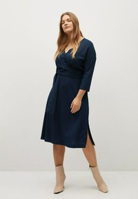 Violeta by Mango - DOMIN - Jumper dress - dark navy - 1