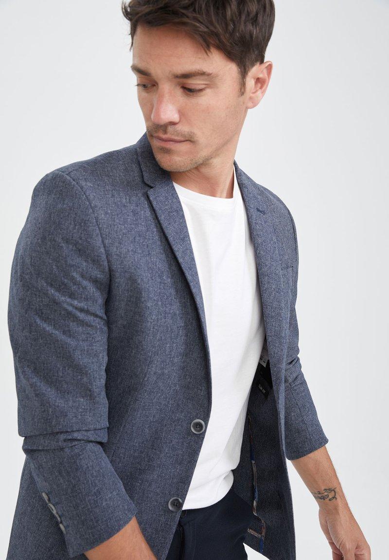 DeFacto - Blazer jacket - indigo