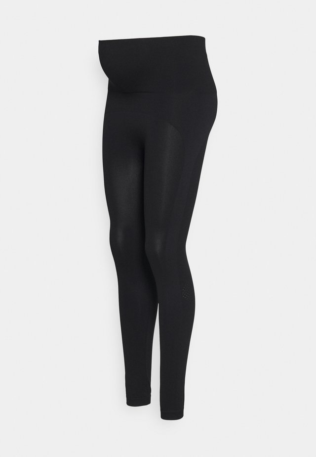 SOFT SUPPORT SPORTS LEGGINGS - Leggings - black