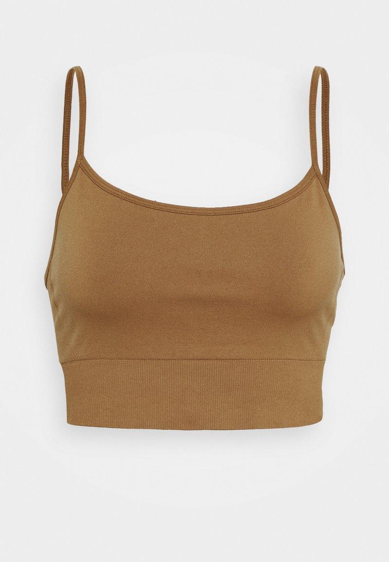 ARKET - Light support sports bra - brown