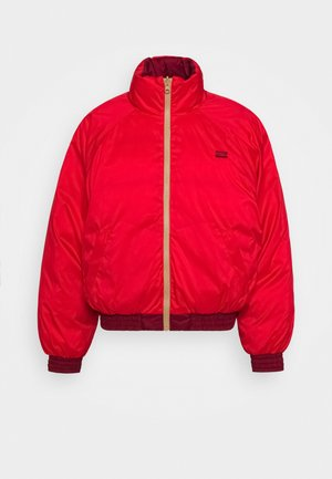 LYDIA REVERSIBLE PUFFER - Winterjas - poppy red